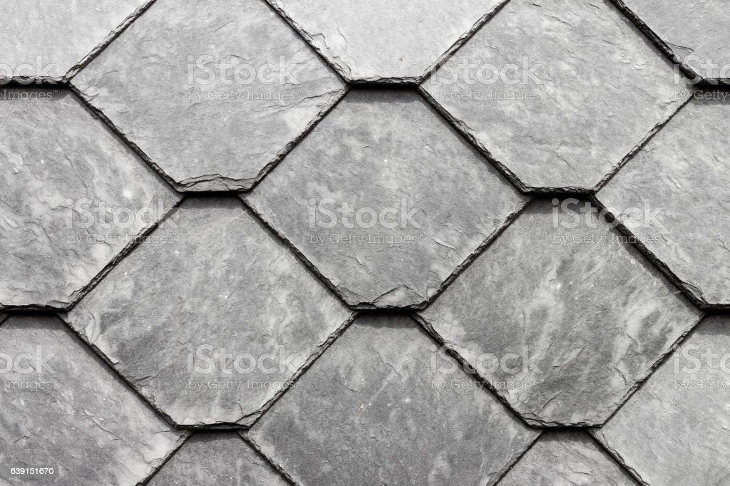 Grey schist wall background stock photo