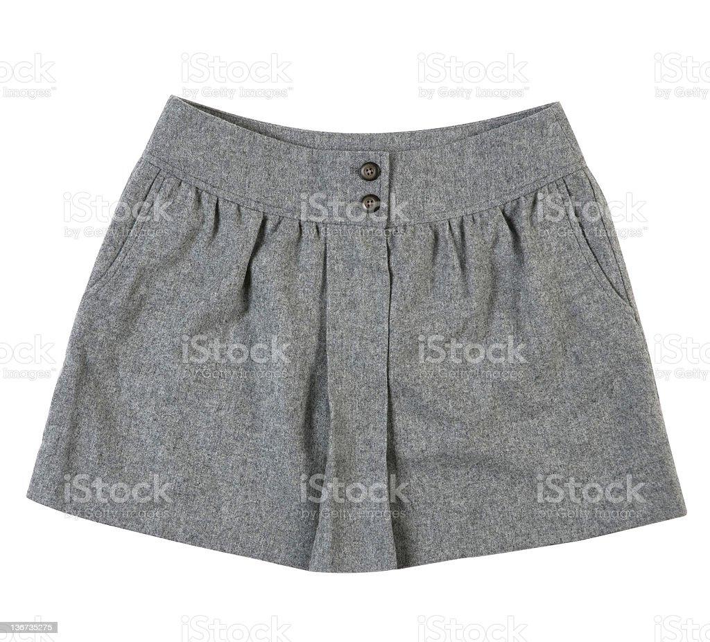 grey skirt royalty-free stock photo