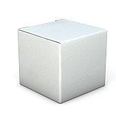 Grey square box