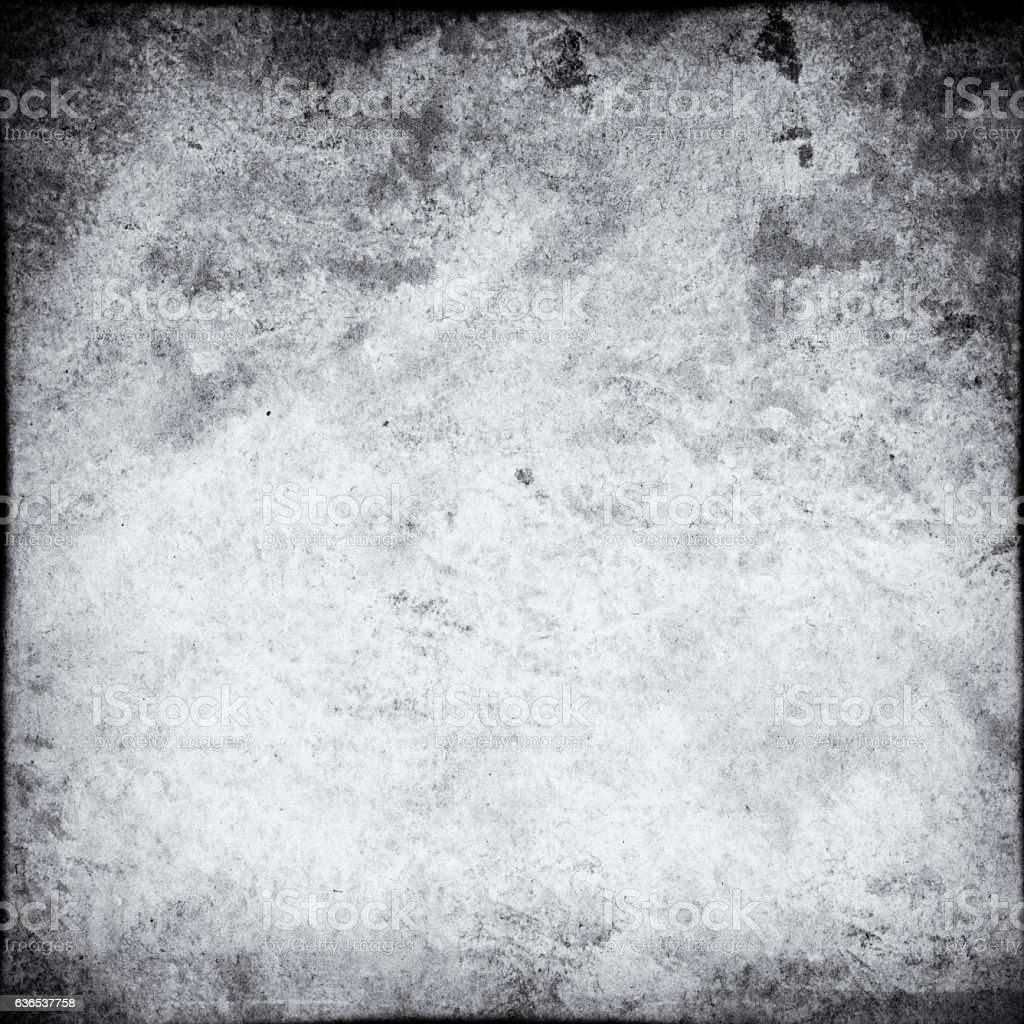 grey square  with black Vignette  grunge background stock photo