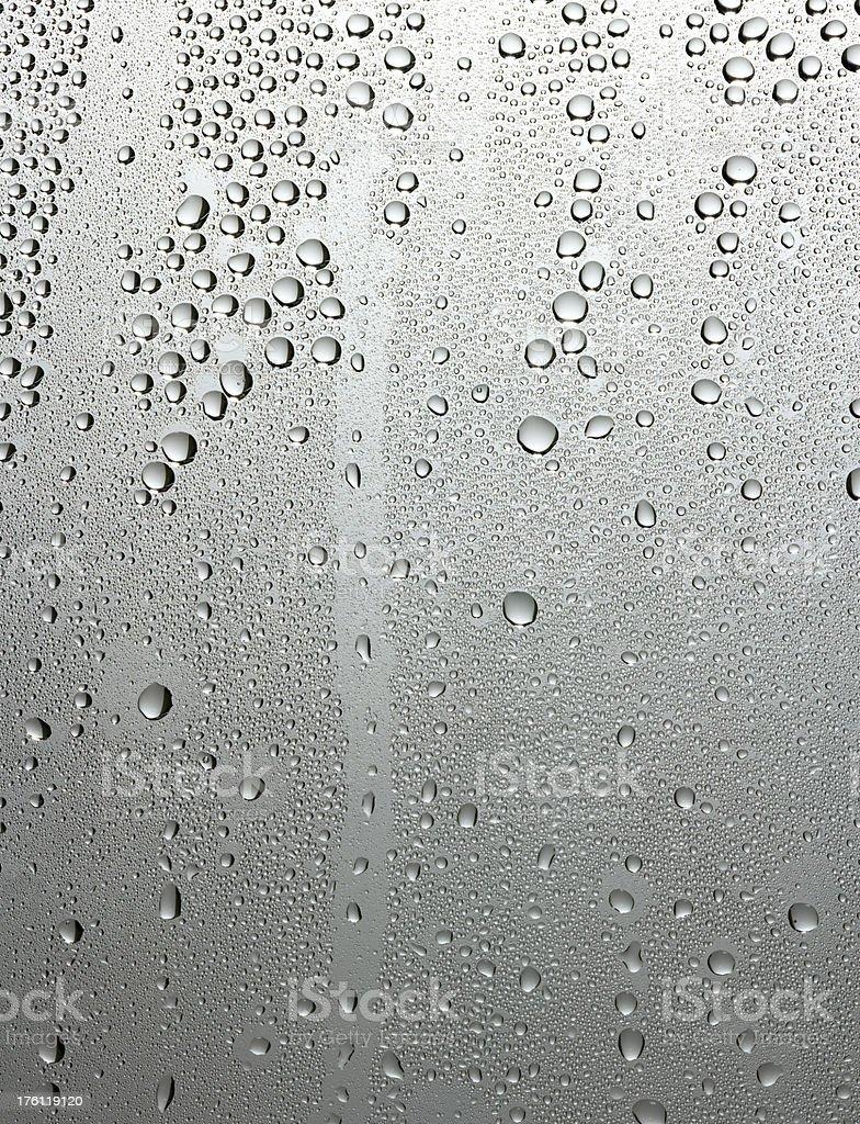Grey steamy glass royalty-free stock photo