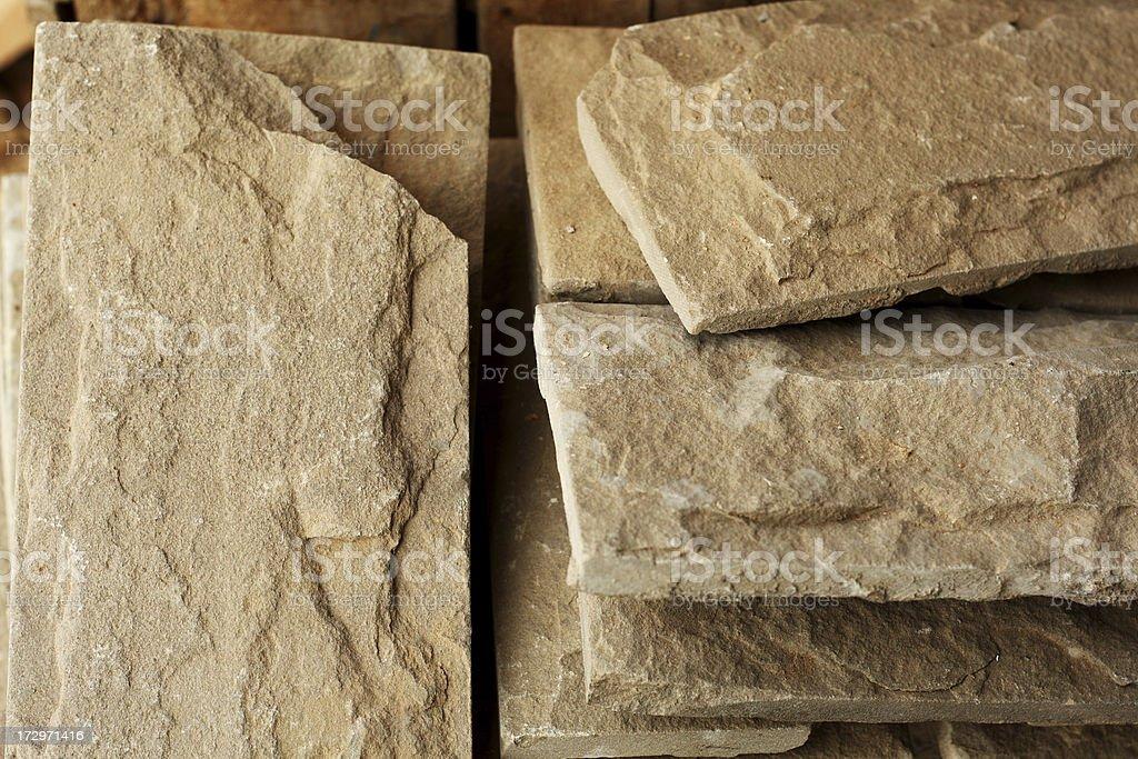 Grey Stone Tiles royalty-free stock photo