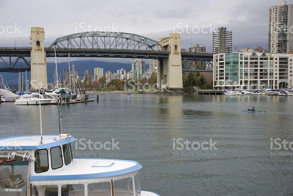 Grey Vancouver royalty-free stock photo