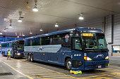 Greyhound bus terminal in Dallas, Texas