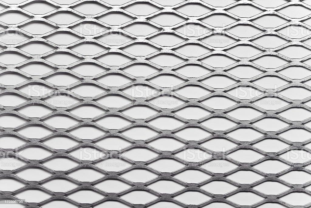 Grid Metal stock photo