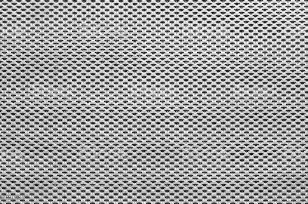 Grid metal sheet stock photo