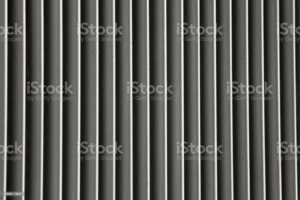 grid of a radiator  color grey industrial stock photo