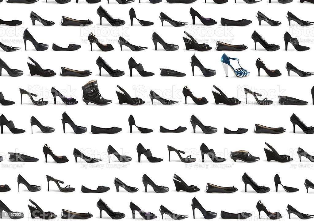 stilettos, high heels, leather