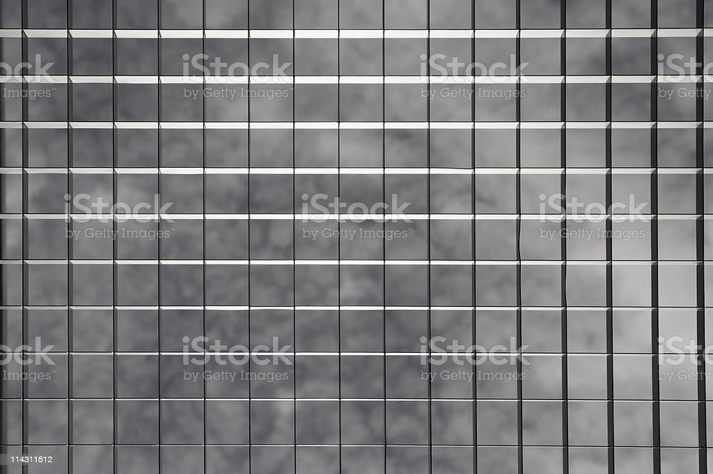 Grid over sky royalty-free stock photo