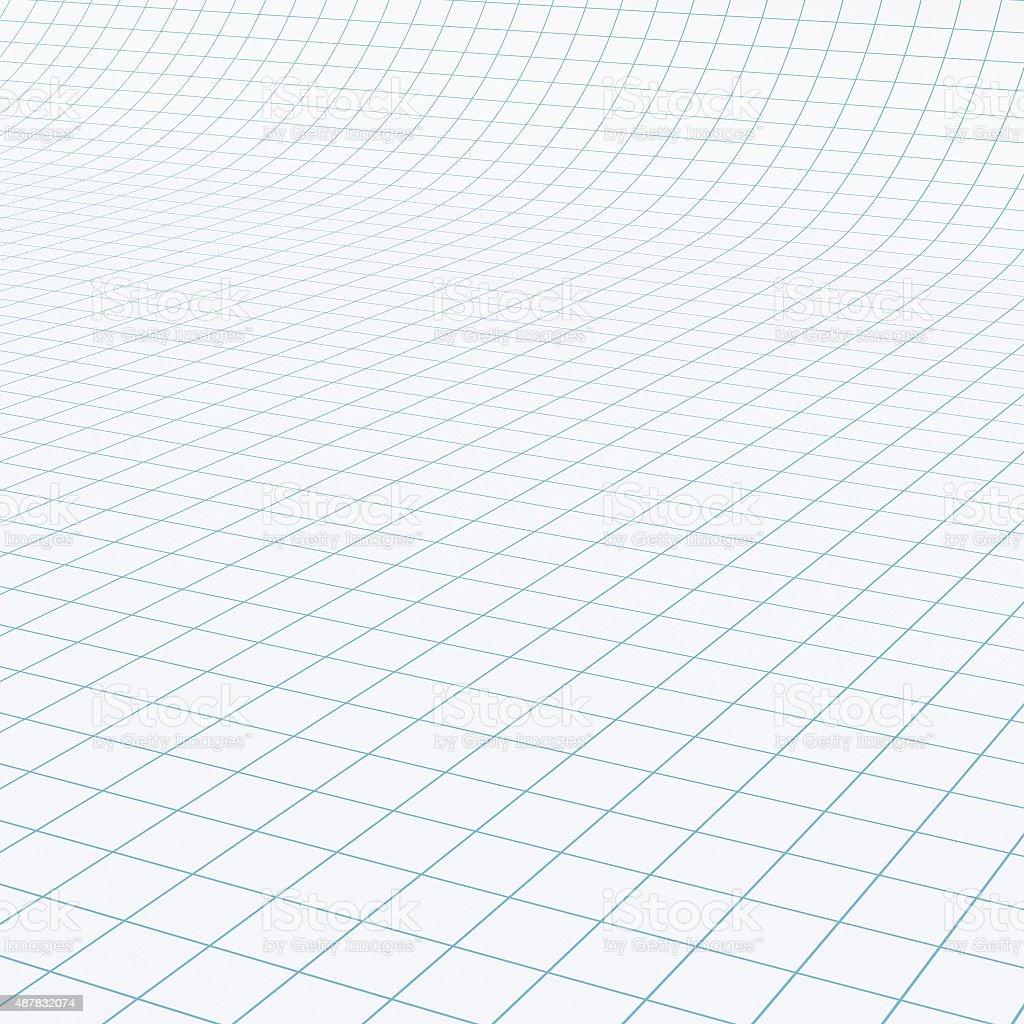 Grid paper vector art illustration
