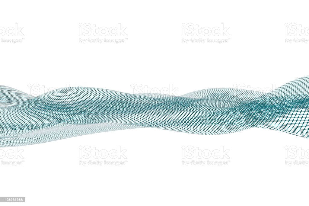 Grid Stream, Technology Abstract stock photo