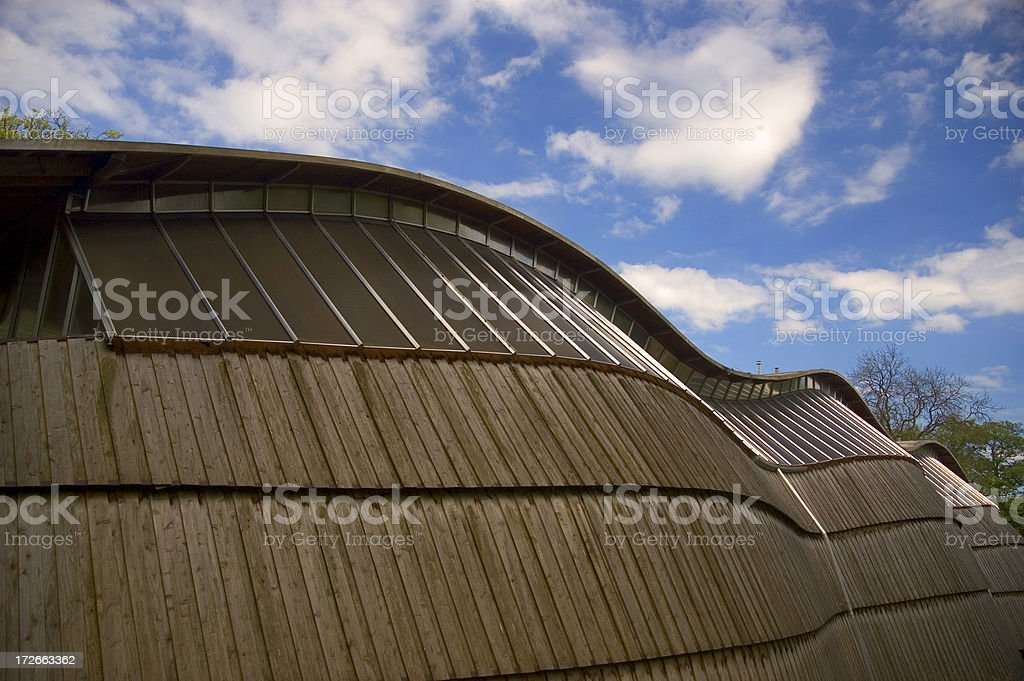 Gridshell royalty-free stock photo