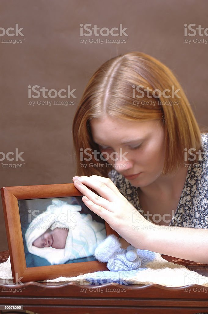 Grief (One) stock photo