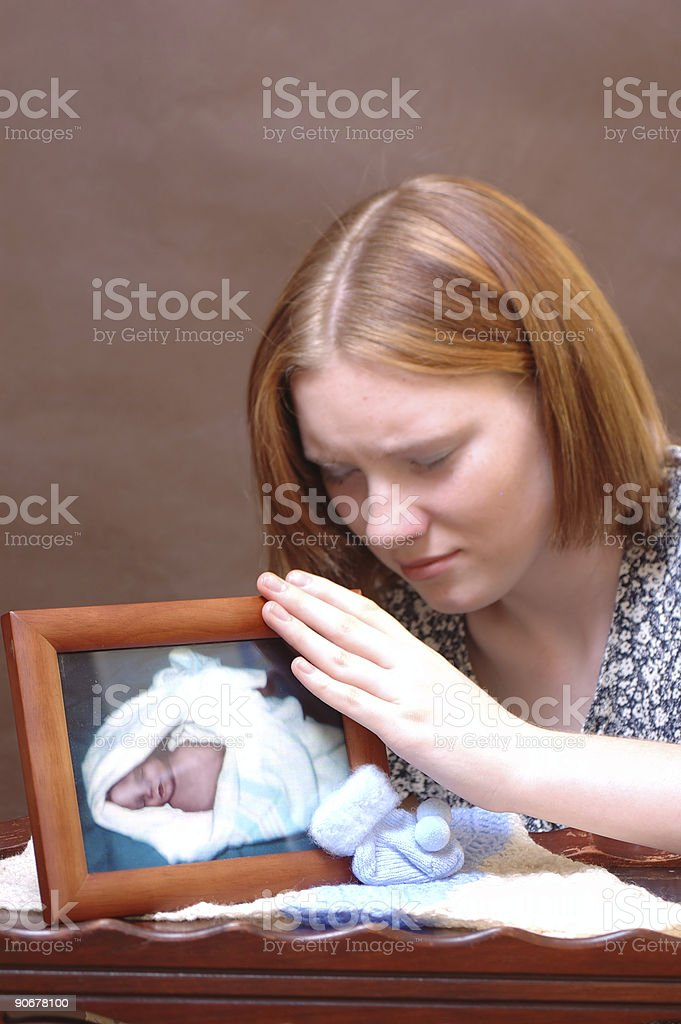 Grief (Four) stock photo