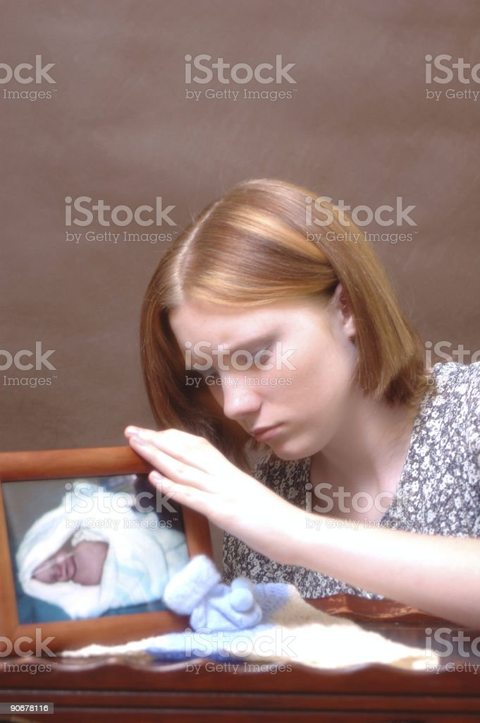 Grief (Two) stock photo