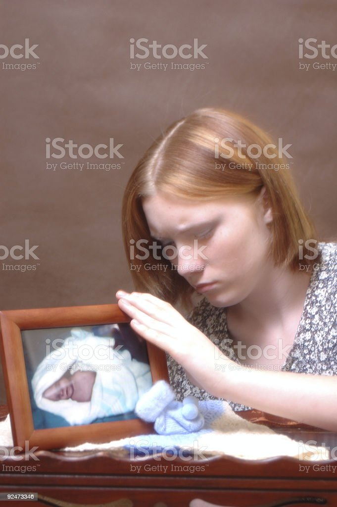 Grief (Three) stock photo