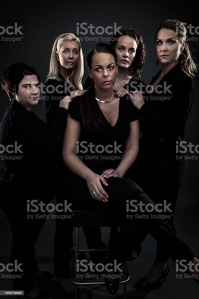 Grief - Women getting together to console