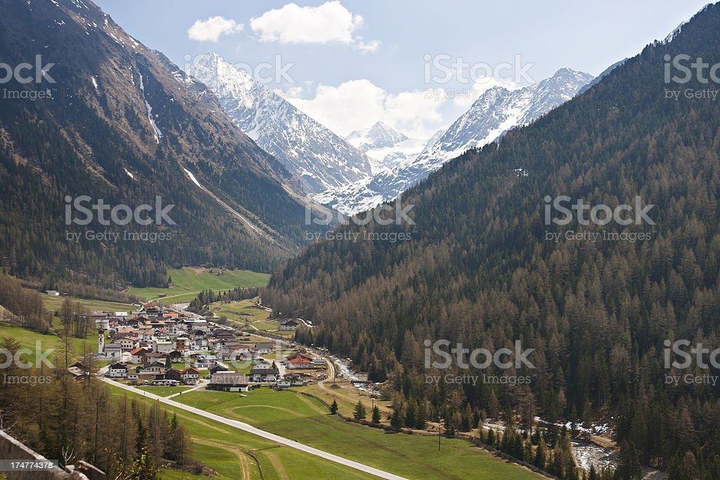 Gries Im Ötztal, Austria stock photo