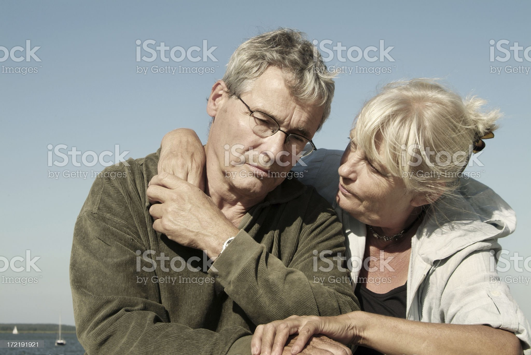 Grieving 02 royalty-free stock photo