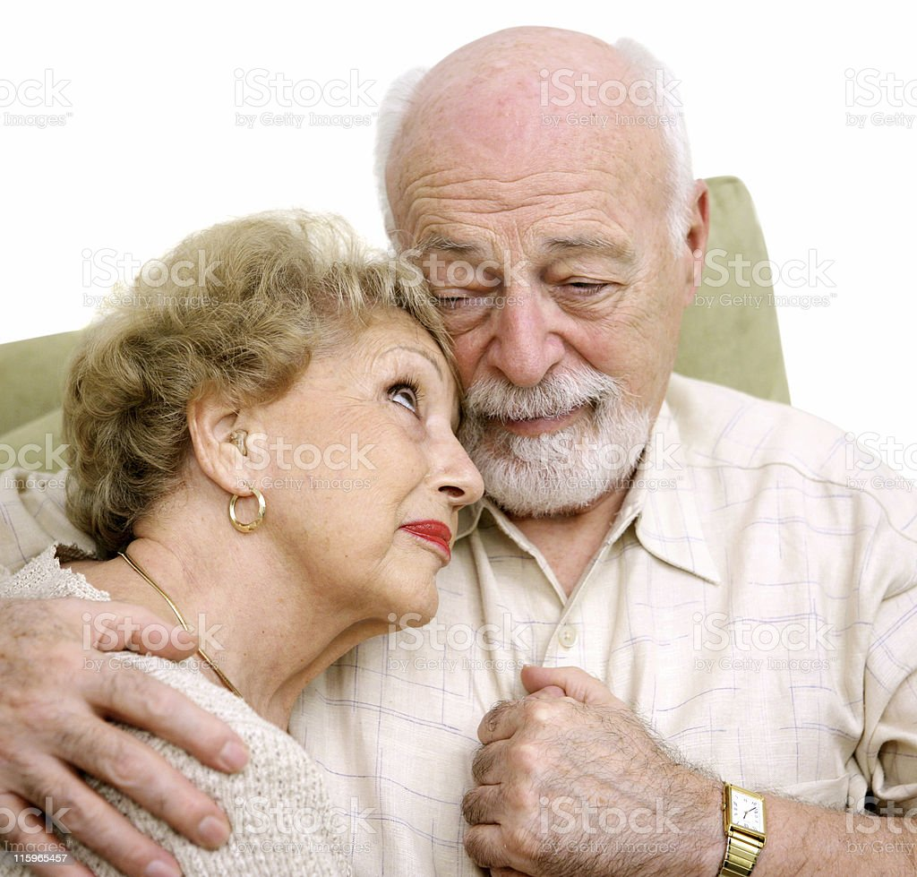 Grieving Together royalty-free stock photo
