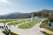Griffith Observatory Courtyard View