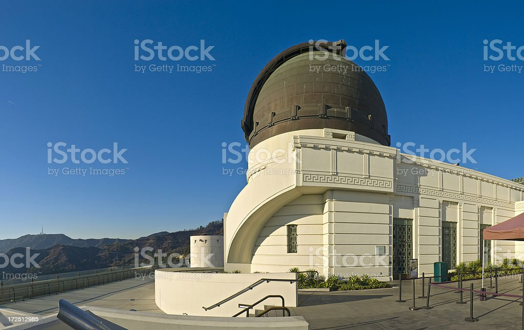 Griffith Observatory, Hollywood stock photo