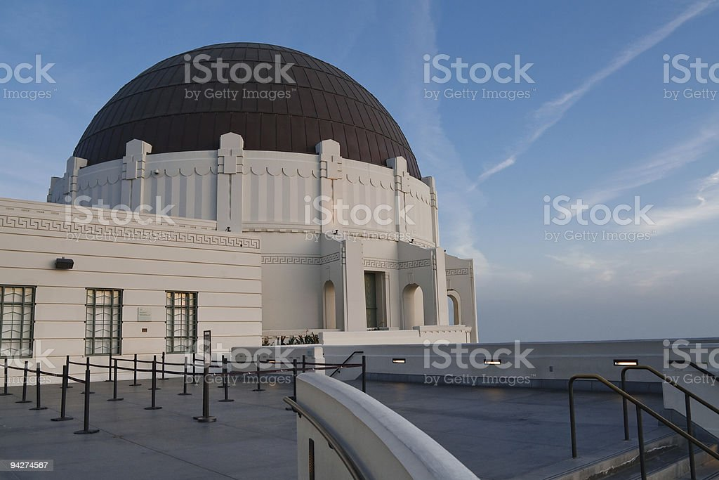 Griffith Observatory, Los Angeles, California stock photo