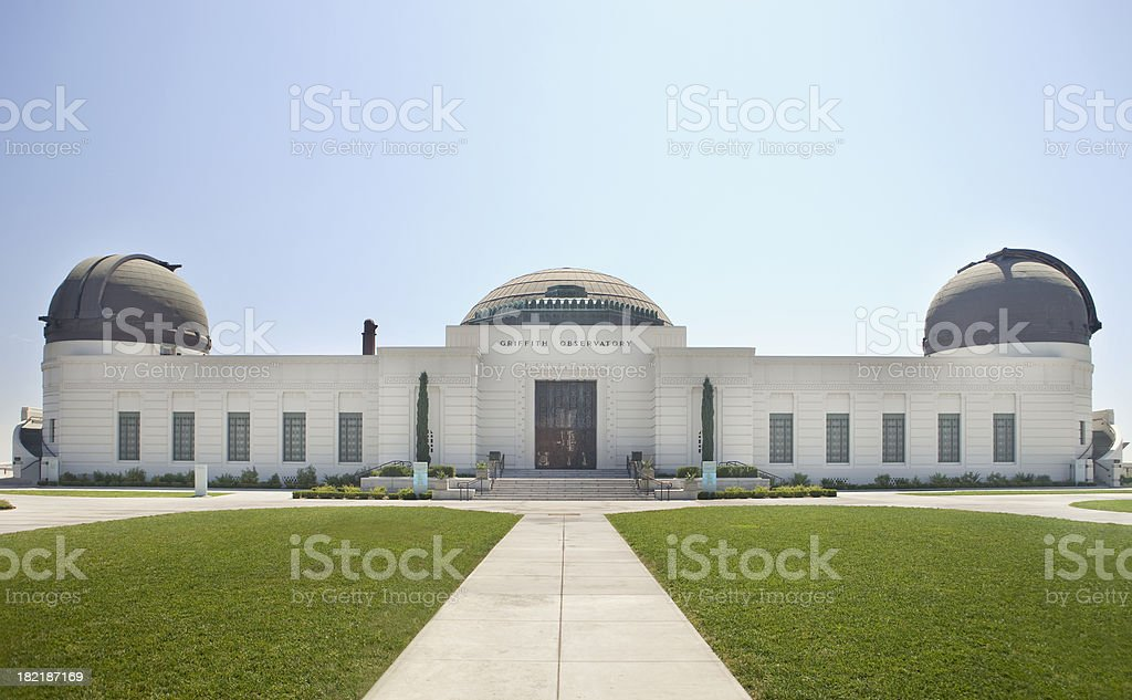 Griffith Observatory Los Angeles stock photo