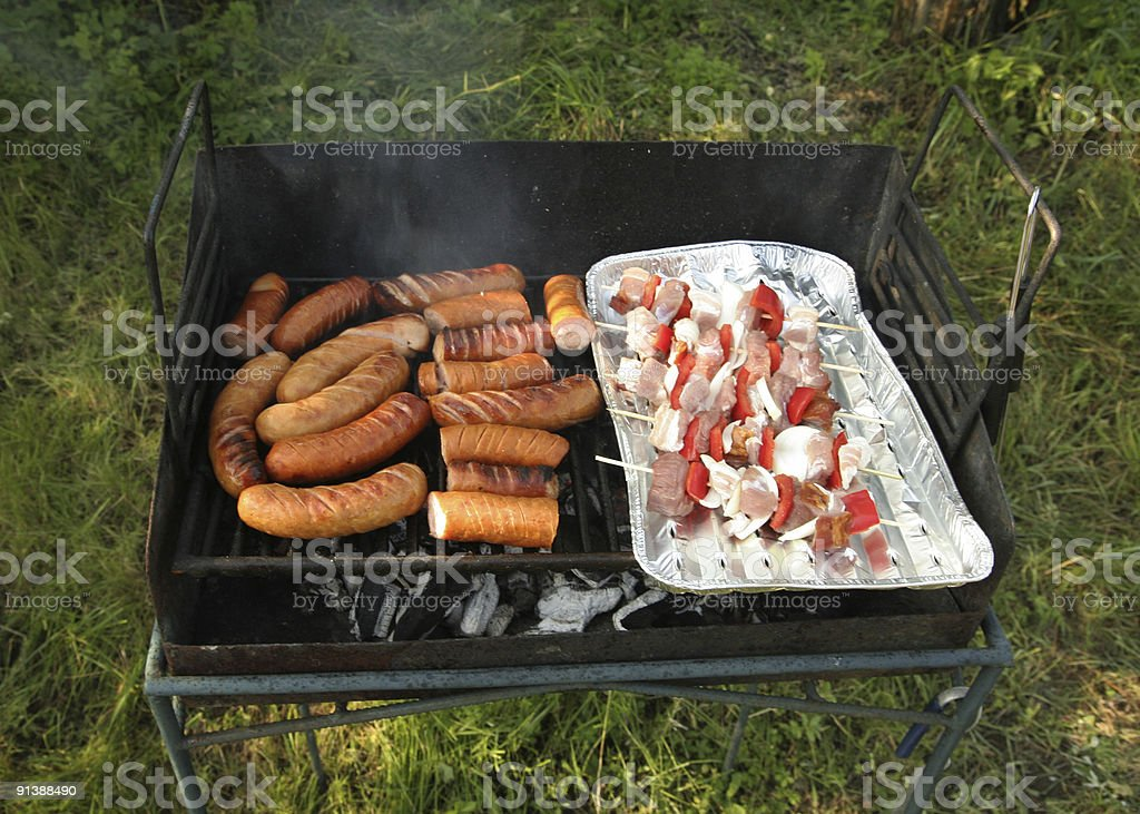 grill barbecue royalty-free stock photo
