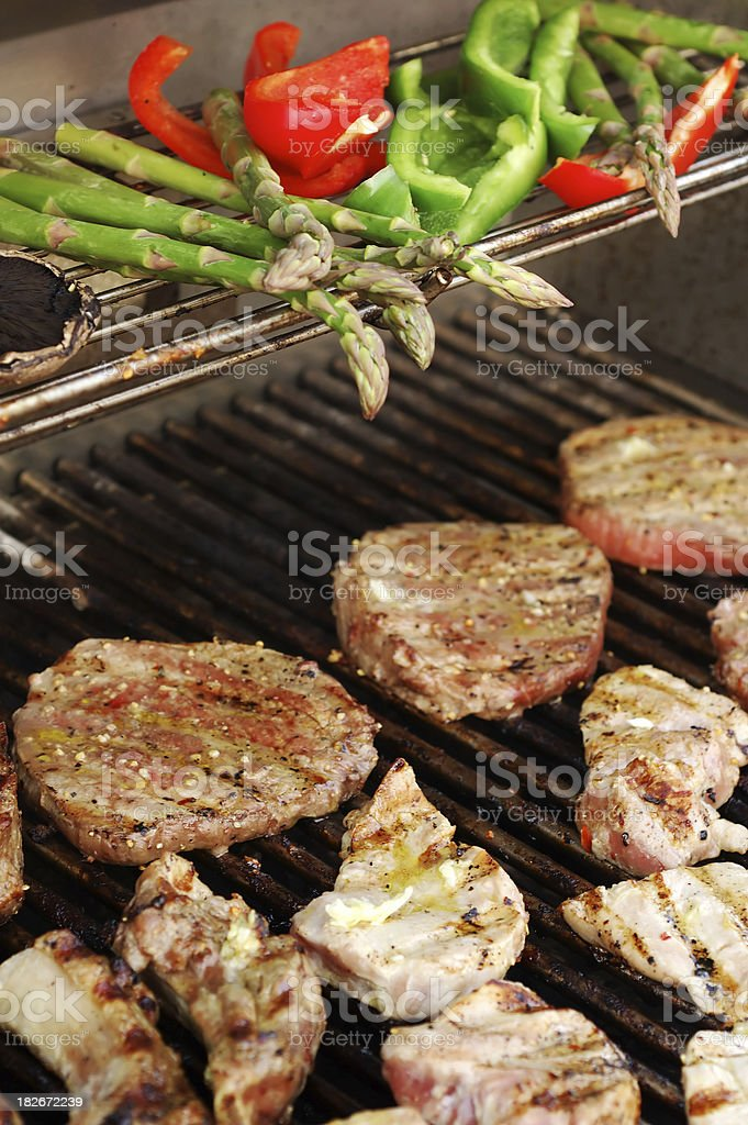grill fest stock photo