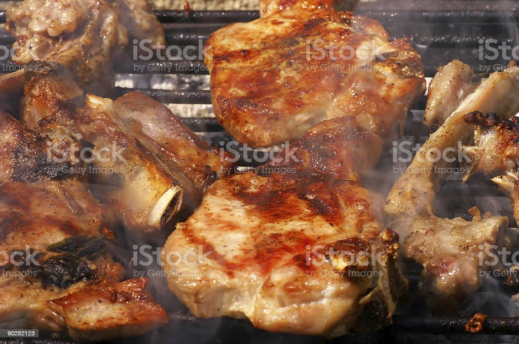 grill meat royalty-free stock photo