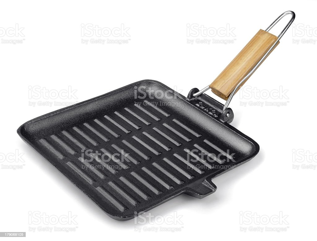 Grill pan royalty-free stock photo