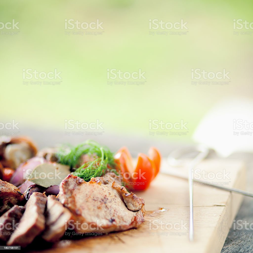 BBQ Grill royalty-free stock photo