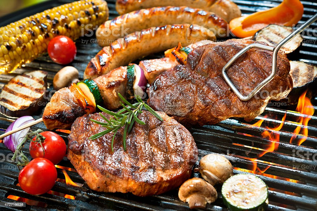 Grill stock photo
