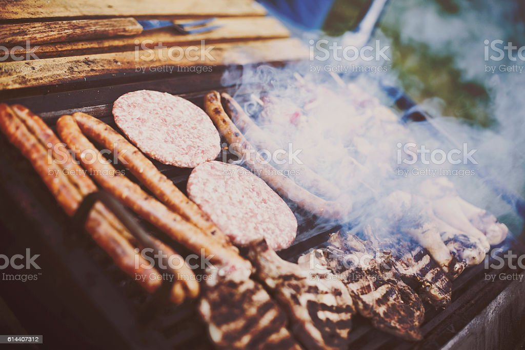BBQ Grill stock photo