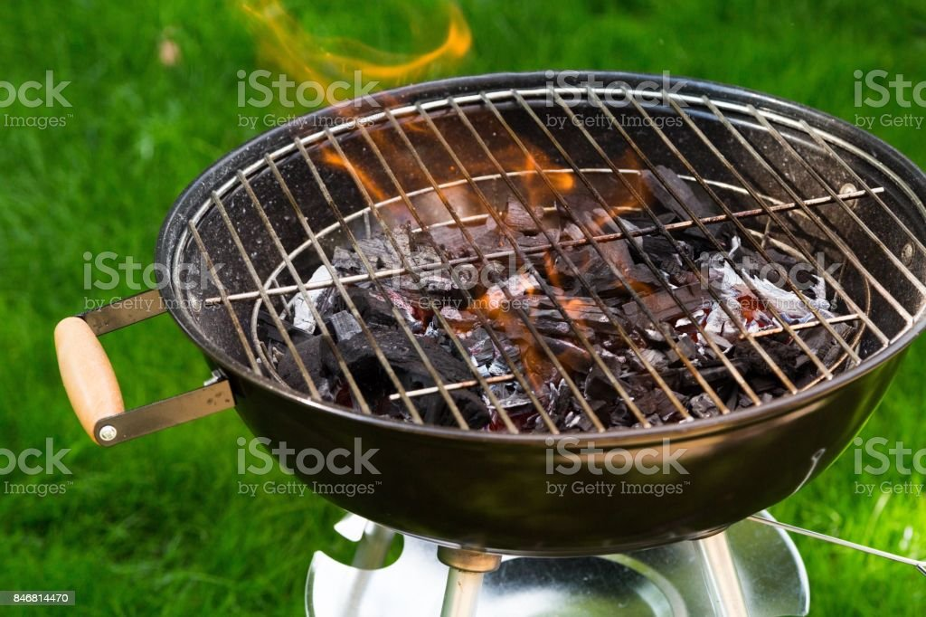 Grill. stock photo