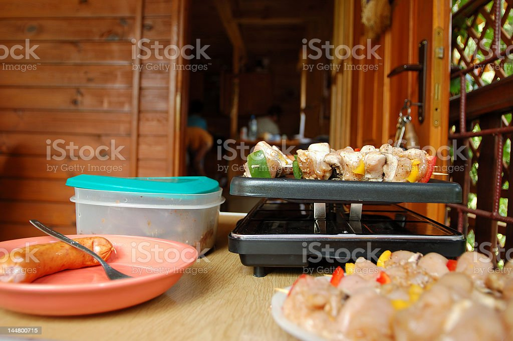 Grill time royalty-free stock photo