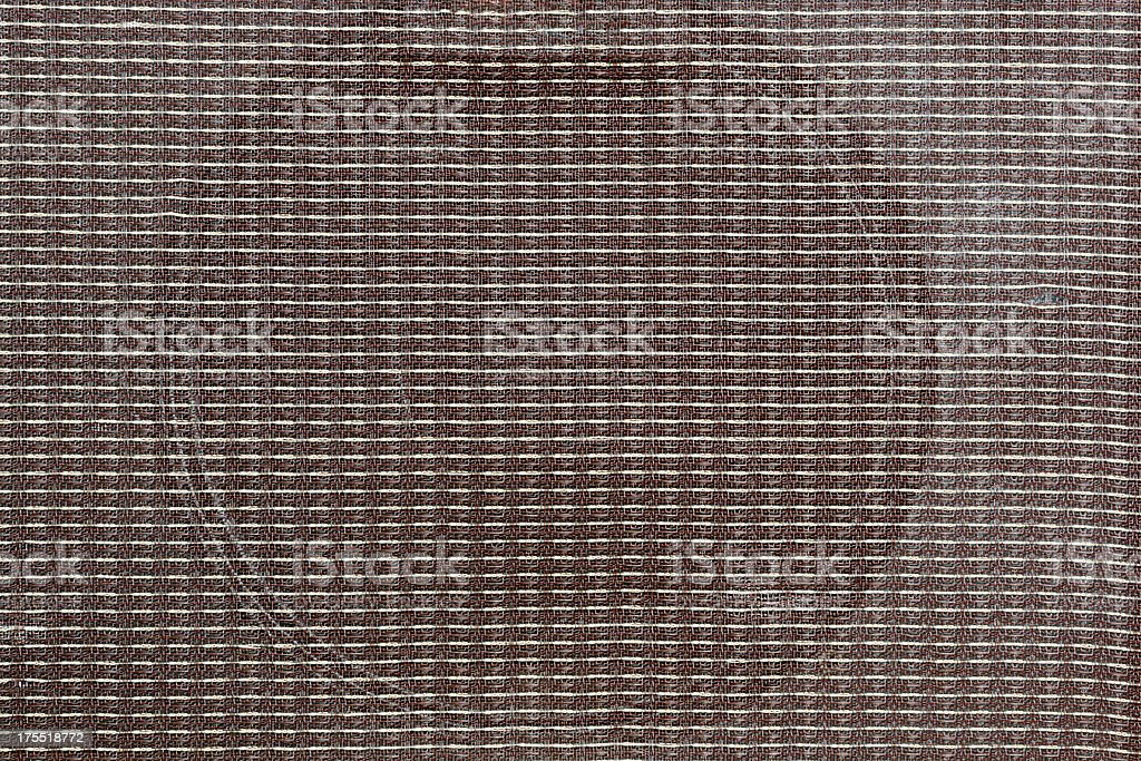 Grille Cloth on Vintage Guitar Amplifier royalty-free stock photo