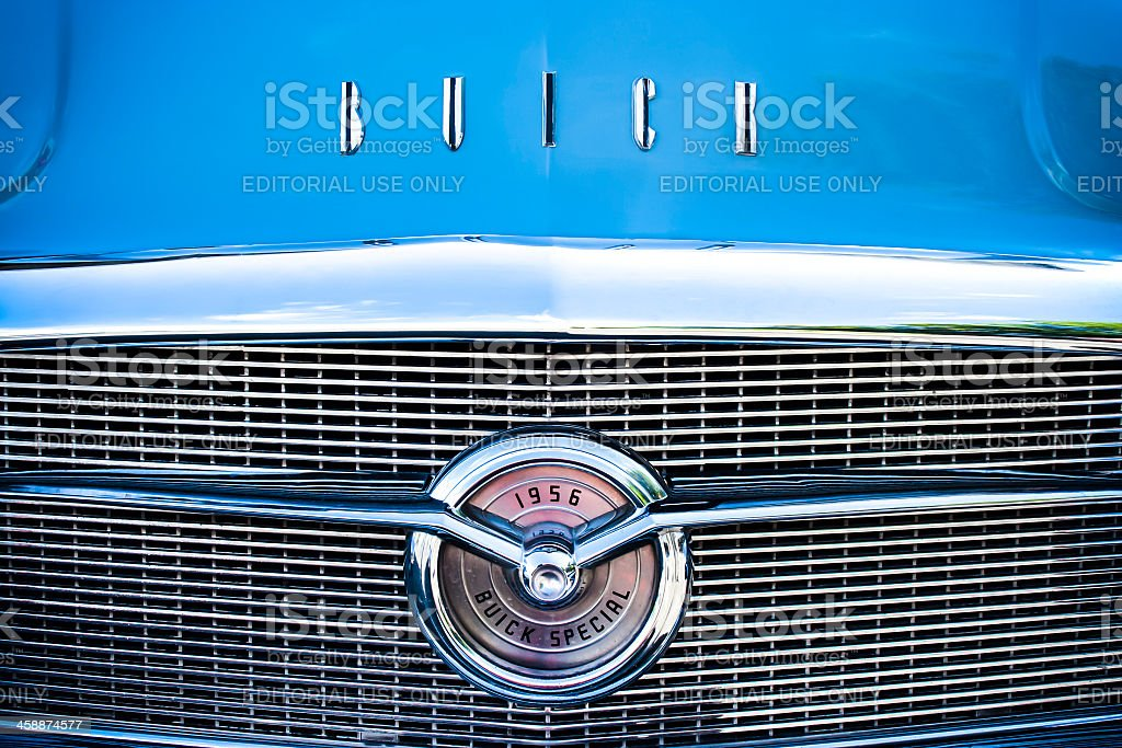 Grille of a 1956 Buick Special royalty-free stock photo