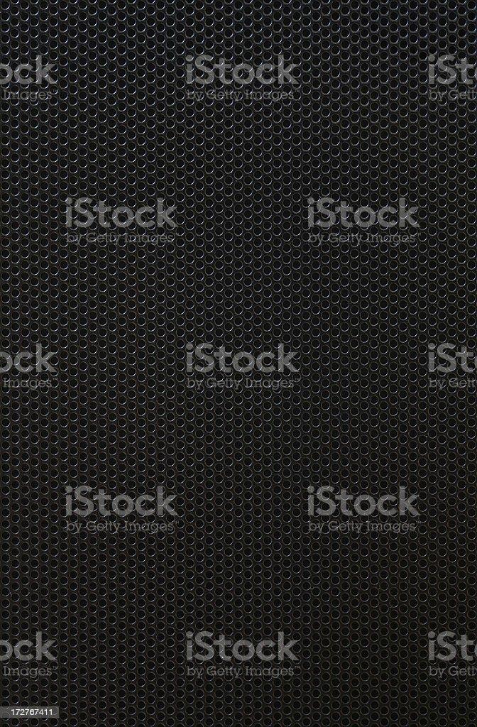 Grille Over Speaker stock photo