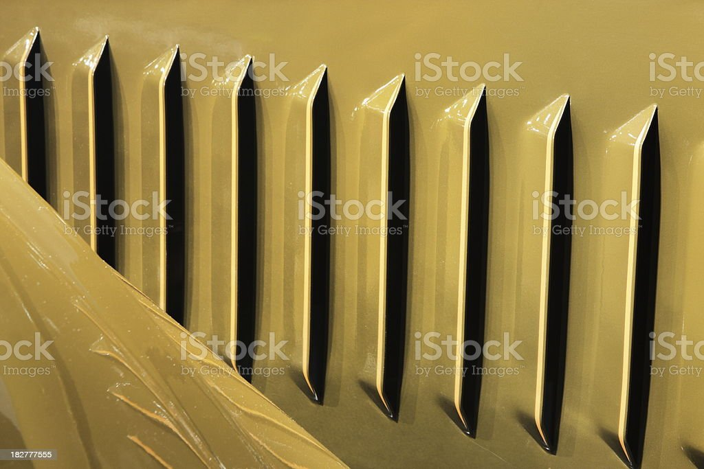Grille Winton Antique Car royalty-free stock photo
