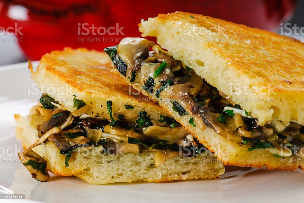 Grilled Cheese Lunch stock photo