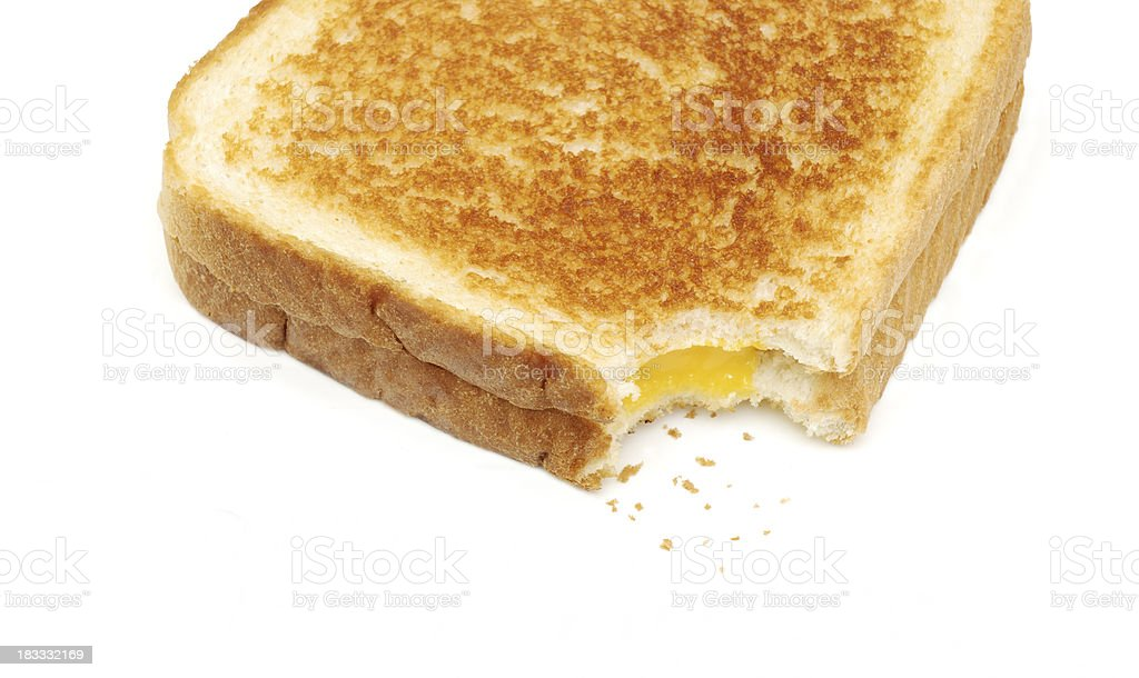 Grilled cheese. royalty-free stock photo
