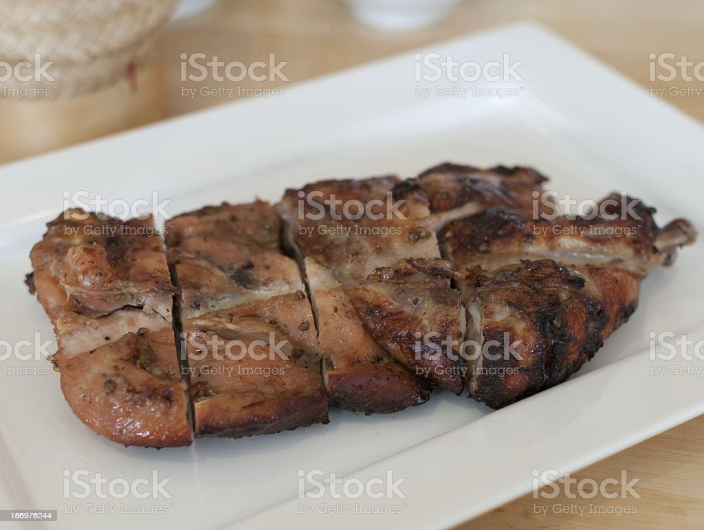 Grilled Chicken 02 royalty-free stock photo