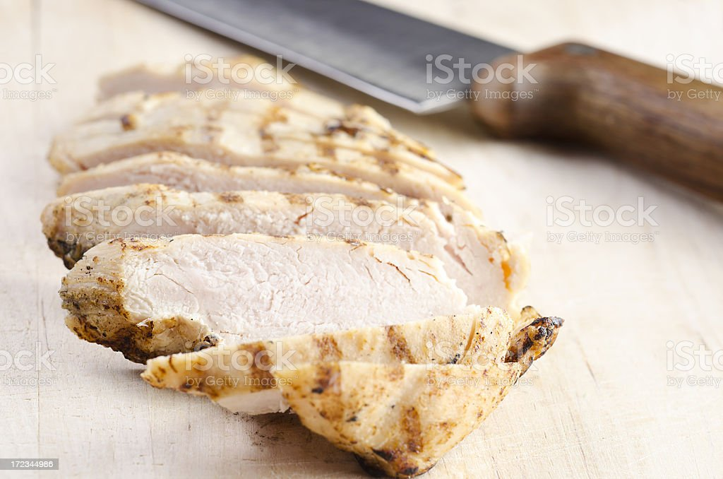 Grilled Chicken Breast royalty-free stock photo