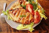 Grilled chicken breast.