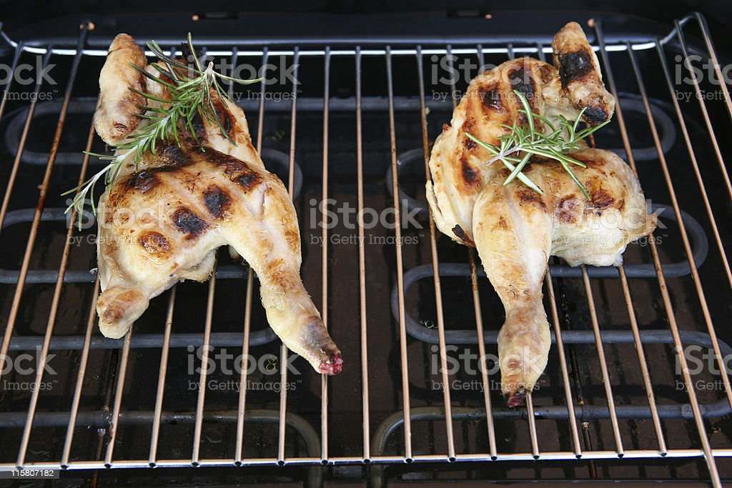 grilled chicken legs royalty-free stock photo