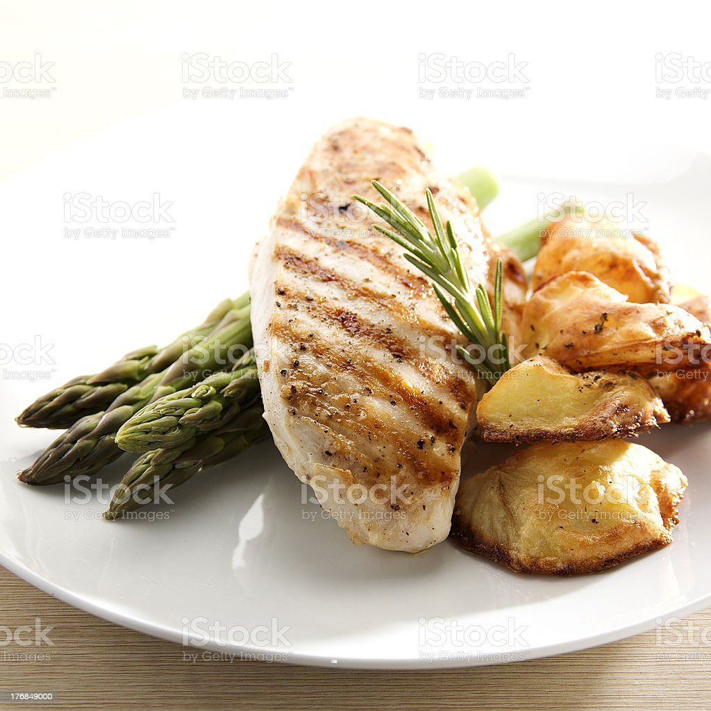 Grilled Chicken stock photo