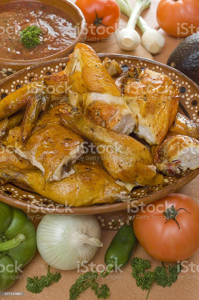 Grilled Chicken royalty-free stock photo
