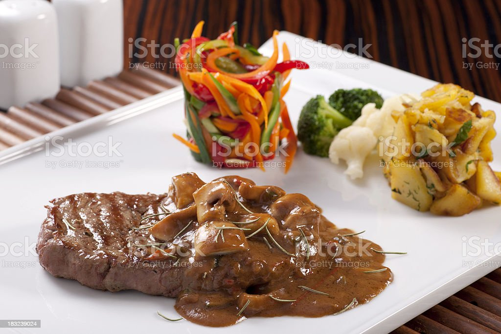 Grilled Filet royalty-free stock photo
